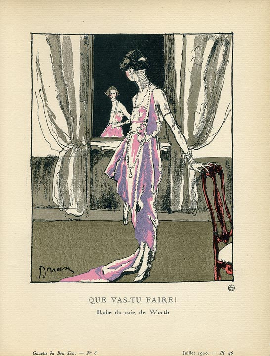 Gazette du Bon Ton Illustration
